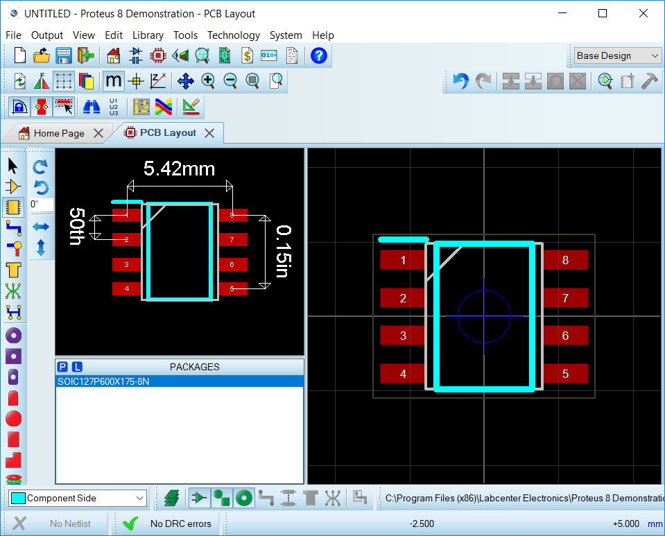 proteus pcb design packages free download