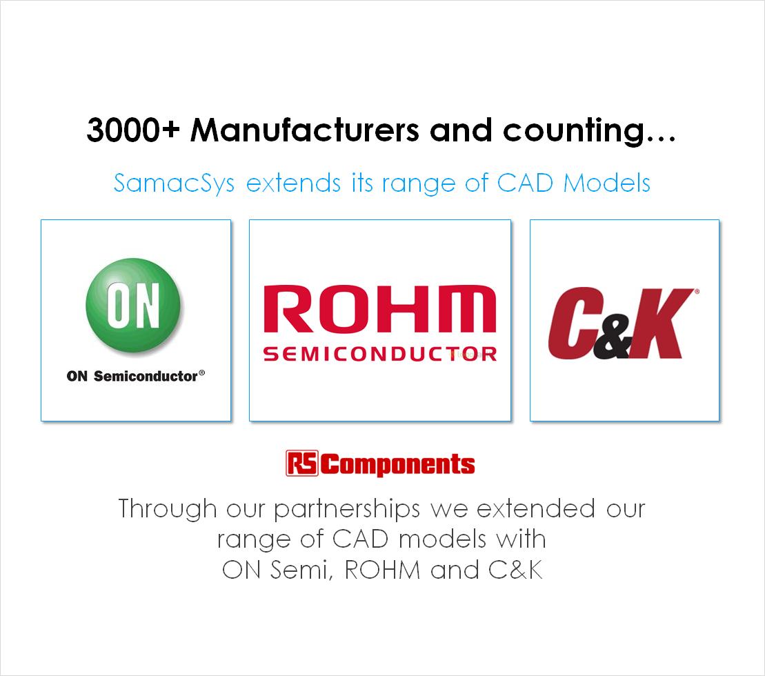 Component Manufacturers ECAD Models