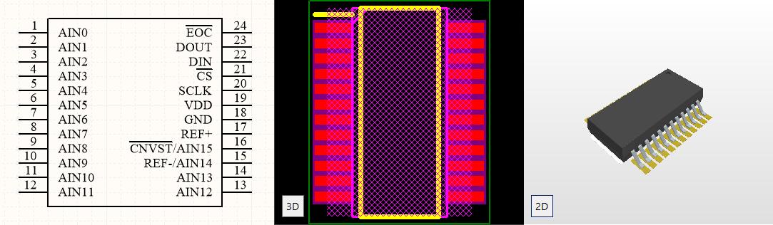 Altium Designer PCB Library - FREE - Footprints - Symbols - 3D Models